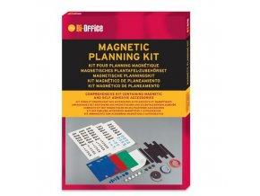 Magnetická sada pro magnetické plánovací tabule