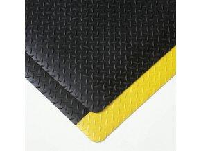 Protiúnavové průmyslové rohože s diamantovým povrchem, šířka 91 cm, metrážové