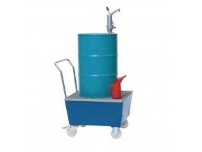 Pojízdné záchytné vany