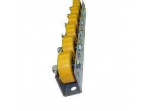 Univerzální kladičkové lišty, guma, šířka 41 mm, rozteč 50 - 125 mm