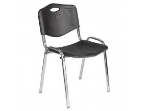 Plastové jídelní židle ISO Chrom