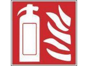 Požární fotoluminiscenční bezpečnostní tabulky - Hasicí přístroj