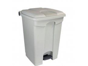 Plastové odpadkové koše Manu, objem 45 l