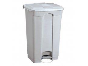 Plastové odpadkové koše Manu, objem 90 l