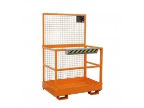 Pracovní klece pro vysokozdvižný vozík, rozměry 80 x 120 cm