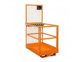 Pracovní klece pro vysokozdvižný vozík, rozměry 120 x 80 cm
