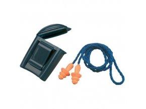 Vroubkované špunty do uší 3M Box se šňůrkou, útlum 25 dB, 50 ks