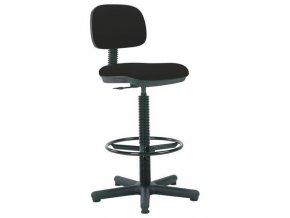 Pracovní židle Senior s kluzáky