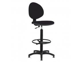 Zvýšená pracovní židle Stella s kluzáky
