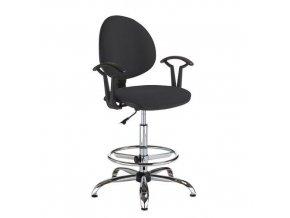 Pracovní židle Smarty s kluzáky