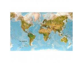 Zeměpisná mapa světa