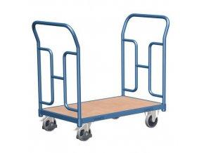 Plošinové vozíky se dvěma vyztuženými madly, do 250 kg