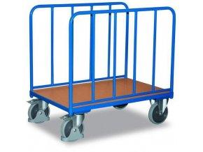 Plošinové vozíky se dvěma vyztuženými stěnami, do 500 kg