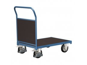 Plošinové vozíky s madlem s plnou výplní, do 1 000 kg