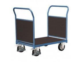 Plošinové vozíky se dvěma madly s plnou výplní, do 1 000 kg