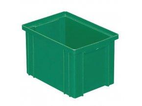 Barevné plastové přepravky PS (3,6 l)