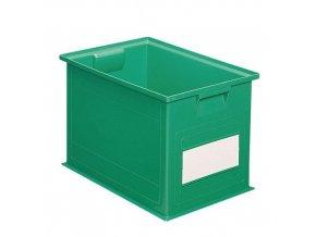 Barevné plastové přepravky PS (40,5 l)
