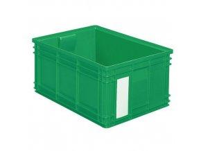 Barevné plastové přepravky PS (85 l)