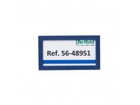 Informační rámečky Tarifold 8 x 4,5 cm, magnetické