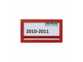 Informační rámečky Tarifold 8 x 4,5 cm, samolepicí