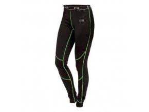Dámské termo kalhoty CXS, černé/zelené