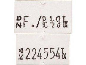 Etikety Cola-Ply 22 x 12 mm