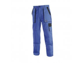Dámské montérkové kalhoty CXS, modré/černé