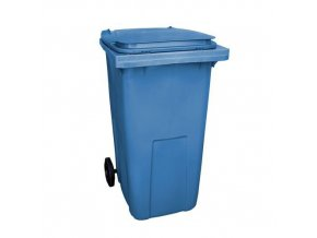 Plastové venkovní popelnice na tříděný odpad, objem 240 l
