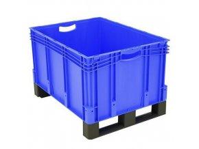 Plastové přepravky PP s ližinami