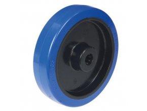 Gumová pojezdová kola, průměr 100 - 200 mm, kluzná ložiska
