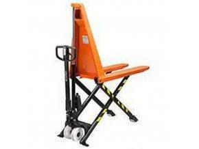 Nůžkový paletový vozík BT HHM100, do 1 000 kg, s rychlozdvihem, výška zdvihu 800 mm