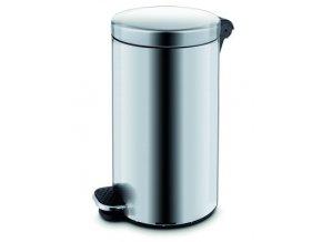 kovove odpadkove kose basic objem 30 l matny nerez a