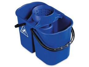 Plastový kbelík se ždímačem, 8 + 6 l