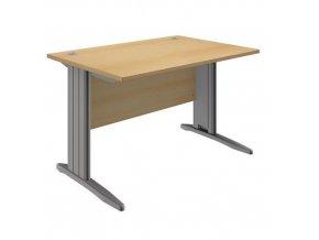 Kancelářské stoly Praktick, rovné provedení