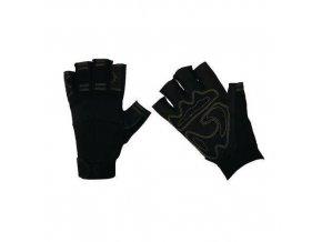 Polyesterové rukavice Manu, černé