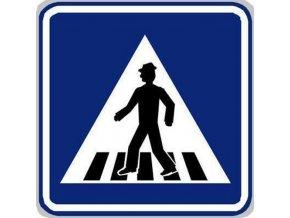 Dopravní značka Přechod pro chodce (IP6)