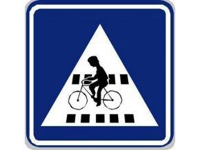 Dopravní značka Přejezd pro cyklisty (IP7)