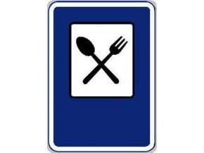 Dopravní značka Restaurace (IJ11a)