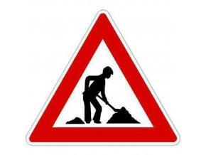 Dopravní značka Práce (A15)
