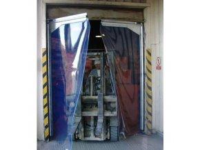 Kyvná vrata pro těžký provoz, šířka 240 - 259 cm