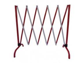 Kovová mobilní zábrana Manu, skládací, délka 230 cm
