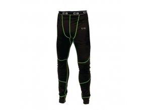 Pánské termo kalhoty CXS, černé/zelené
