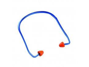 Špunty do uší Manu s páskem, útlum 24 dB, 100 ks