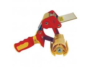 Odvíječ lepicí pásky šířky 75 mm, s brzdou