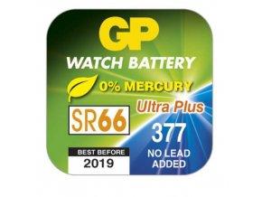 Knoflíková baterie do hodinek GP 377F, krabička