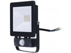 LED reflektor HOBBY SLIM s PIR, 20W neutrální bílá
