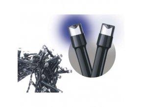 120 LED řetěz pulzující, 12m, IP44, stud./teplá b., časovač