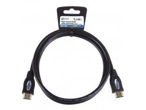 HDMI 1.4 high speed kabel ethe. A vidlice-A vidlice 1,5m ECO