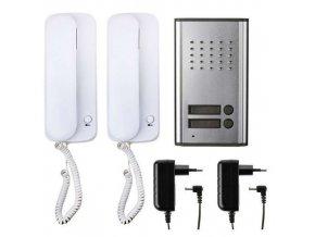 Audiovrátný, sada, 2 účastníci EMOS H1086