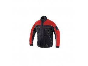 Blůza ORION OTAKAR, zimní, pánská, černo-červená